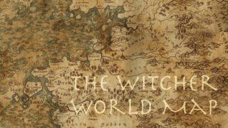ウィッチャー 地図 シントラ テメリア ニルフガードはどこにある?